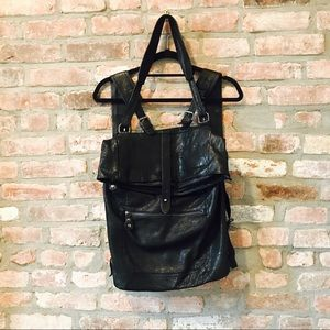 NWOT 7 Chi Leather Backpack
